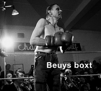 Beuys boxt